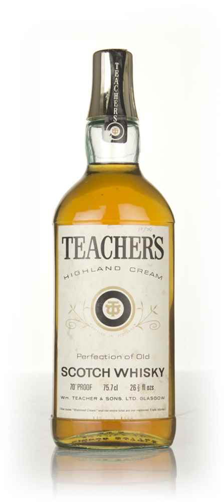 Teachers Highland Cream - 1970s