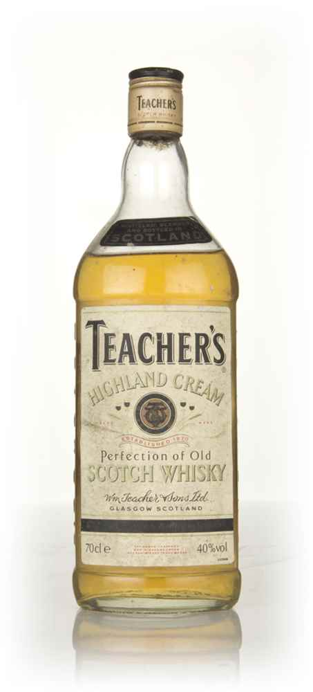 Teacher's Highland Cream - 1970s