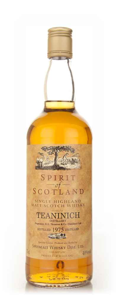 Teaninich 1975 - Spirit of Scotland (Speymalt Whisky)