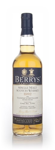 Teaninich 29 Year Old 1982 (Berry Bros. & Rudd)
