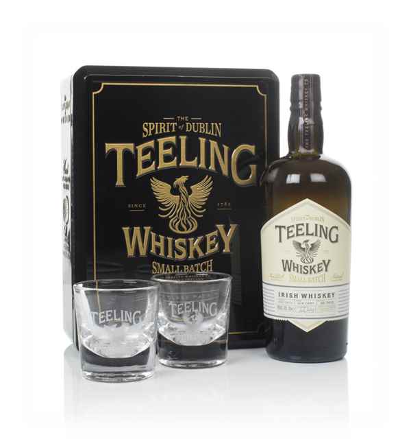 Teeling Small Batch with 2x Glasses