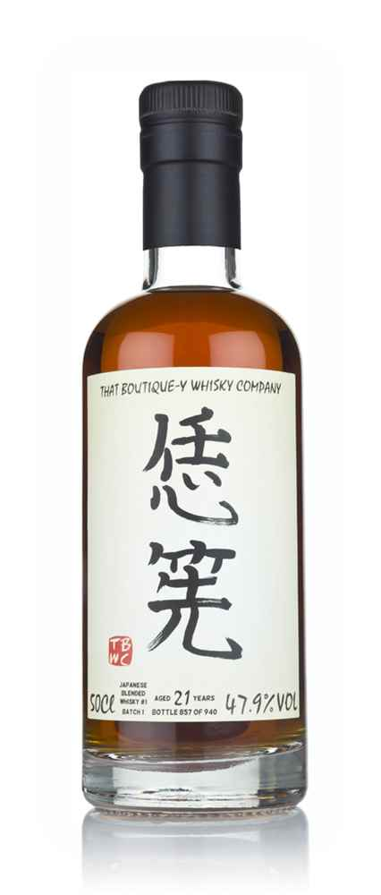 Japanese Blended Whisky #1 21 Year Old - Batch 1 (That Boutique-y Whisky Company)