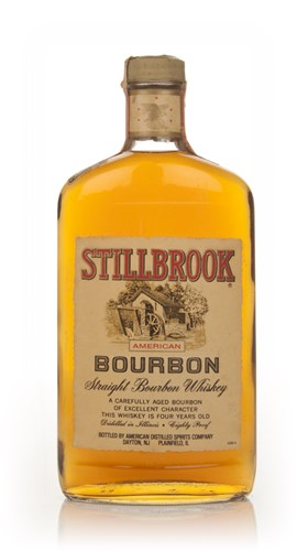 Stillbrook 4 Year Old American Straight Bourbon Whiskey - 1970s