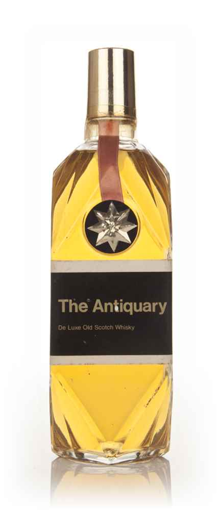 The Antiquary De Luxe Old Scotch Whisky - 1970s