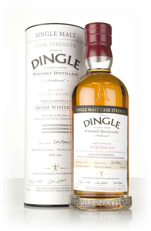 Dingle Cask Strength Single Malt - Batch No. 2