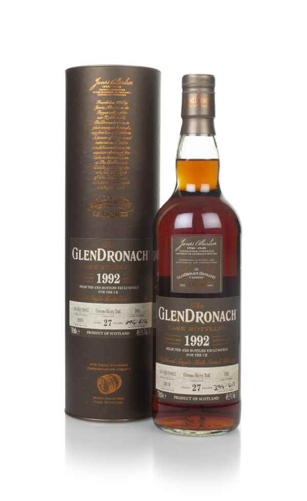 The GlenDronach 27 Year Old 1992 (cask 182)