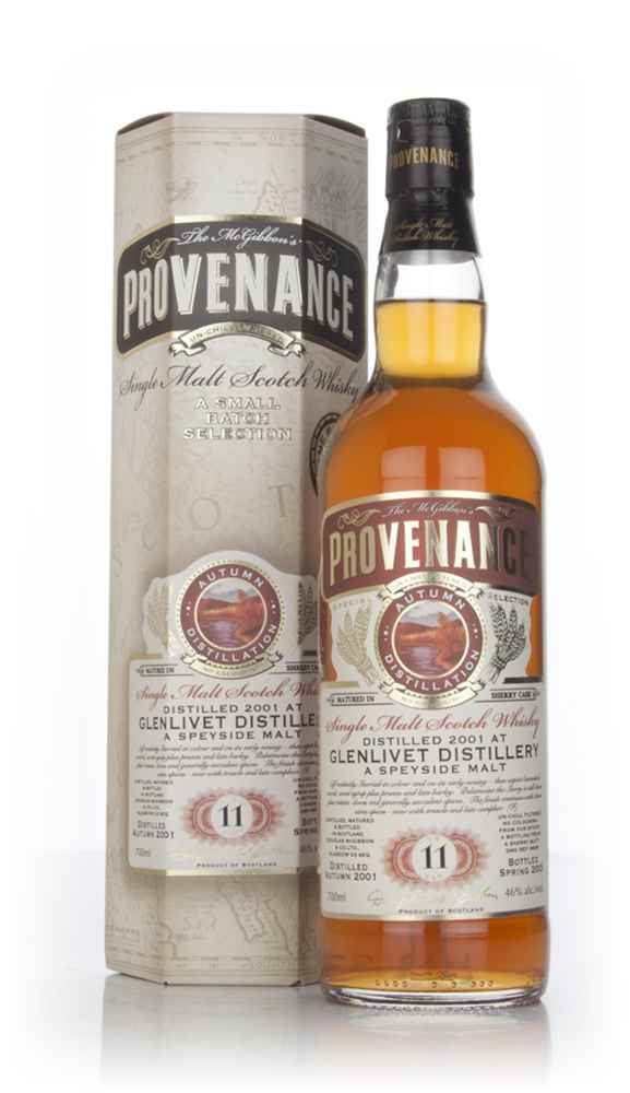 Glenlivet 11 Year Old 2001 (cask 9638) - Provenance (Douglas Laing)
