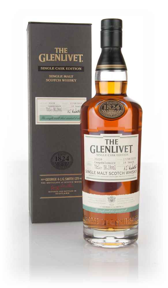 Glenlivet 19 Year Old Campdalemore - Single Cask Edition