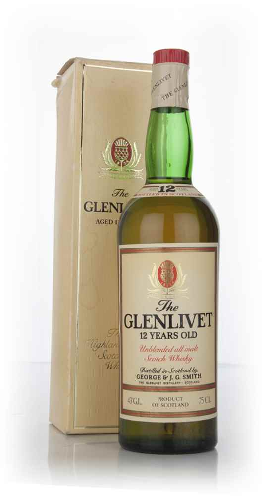 The Glenlivet 12 Year Old Unblended All Malt