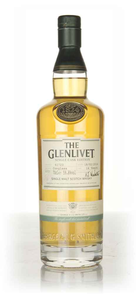 The Glenlivet 14 Year Old Conglass - Single Cask Edition