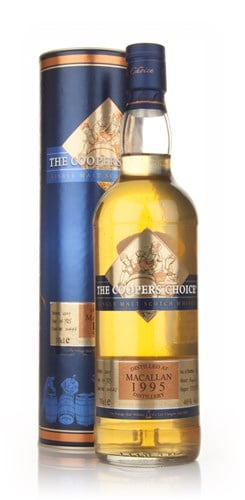 Macallan 13 Year Old 1995 - The Coopers Choice (The Vintage Malt Whisky Co.)