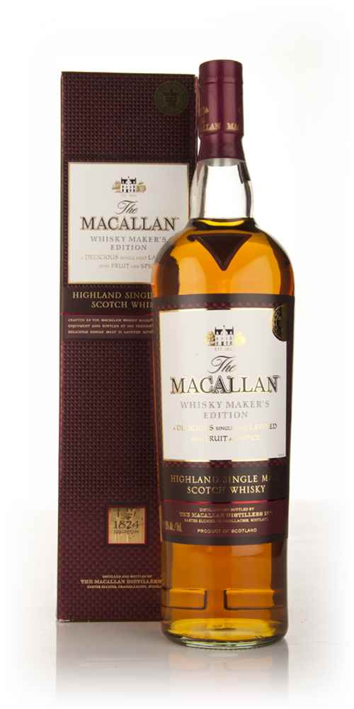 The Macallan Whisky Maker's Edition 1l