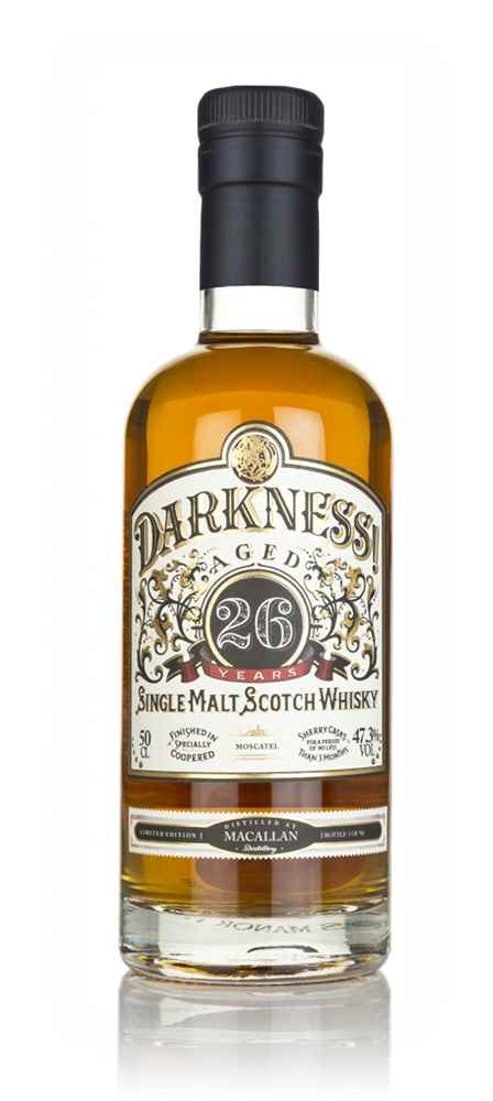Darkness! Macallan 26 Year Old Moscatel Cask Finish
