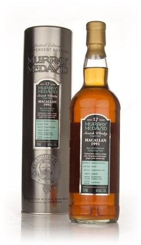 Macallan 17 Year Old 1991 (Murray McDavid)