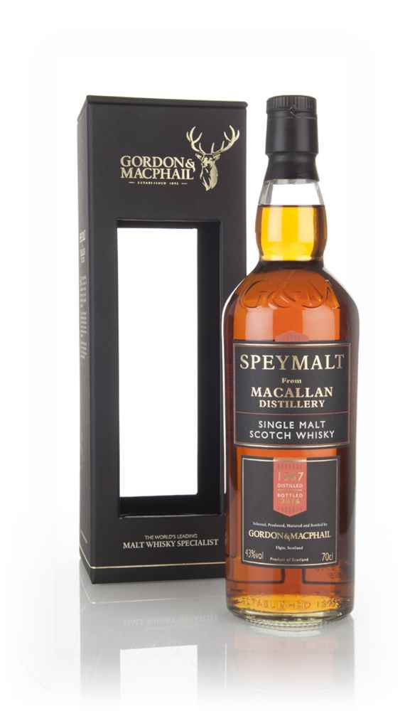 Macallan 1967 (bottled 2016) - Speymalt (Gordon & Macphail)