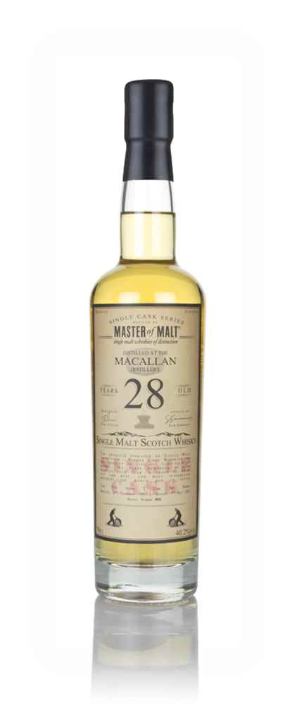Macallan 28 Year Old 1989 - Single Cask (Master of Malt)