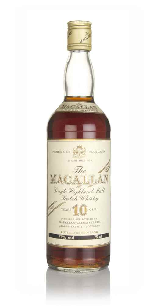 The Macallan 10 Year Old 100° Proof - 1980s