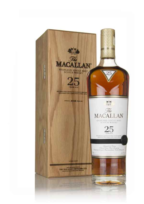 The Macallan 25 Year Old Sherry Oak (2018 Release)
