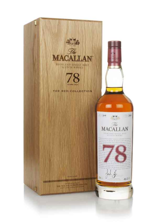 The Macallan 78 Year Old - The Red Collection