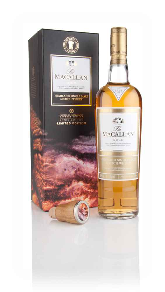 The Macallan Gold - Ernie Button Masters of Photography Capsule Edition