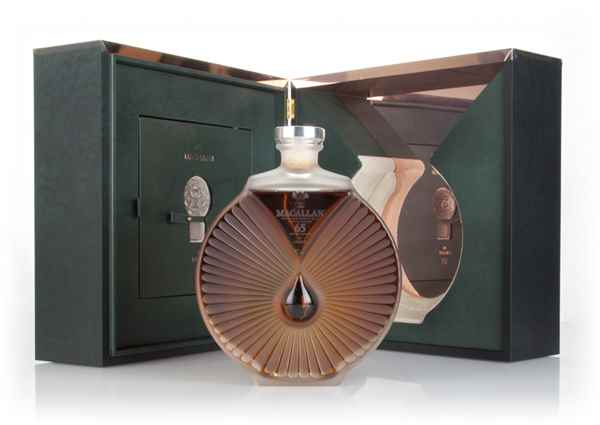 The Macallan in Lalique Peerless Spirit 65 Year Old - The Six Pillars Collection