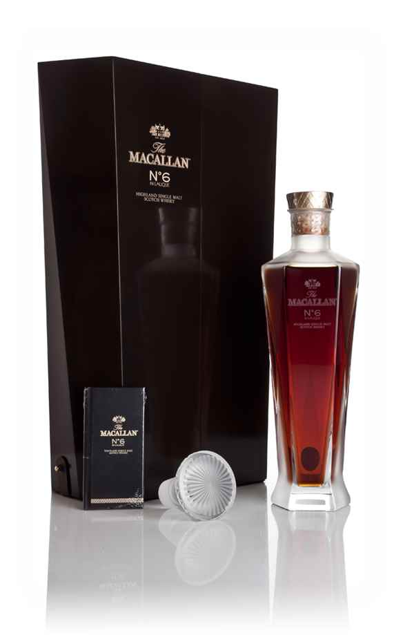 The Macallan No.6 in Lalique Decanter