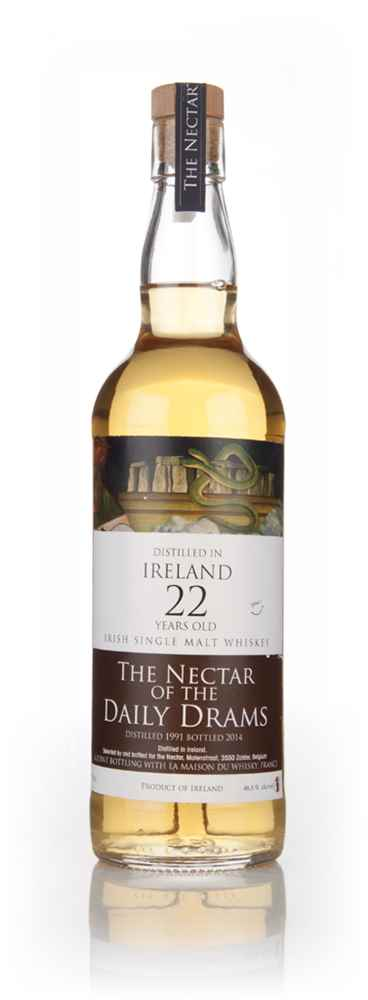 Irish Single Malt 22 Year Old 1991 - The Nectar Of The Daily Drams (Joint Bottling With La Maison Du Whisky)