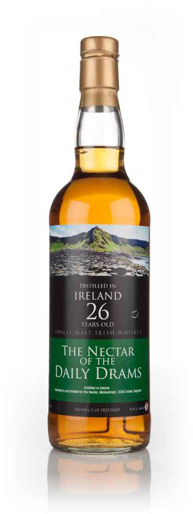 Irish Single Malt 26 Year Old 1987 - The Nectar Of The Daily Drams (Specially Selected by La Maison Du Whisky)