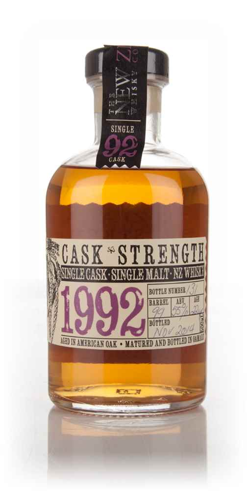 New Zealand 22 Year Old 1992 Cask Strength