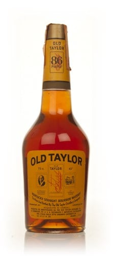 Old Taylor Kentucky Bourbon - late 1960s