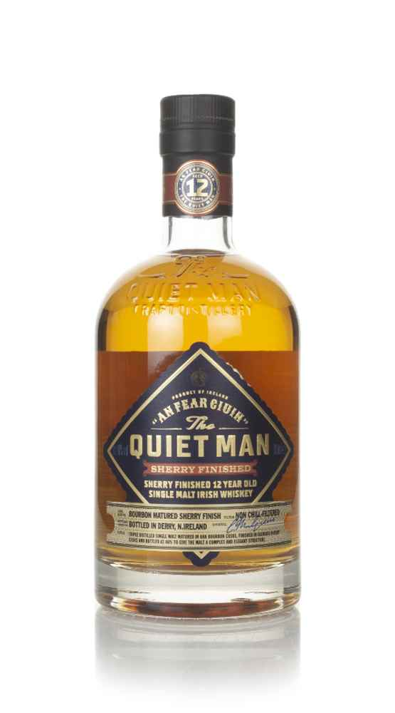 The Quiet Man 12 Year Old Oloroso Sherry Cask Finish