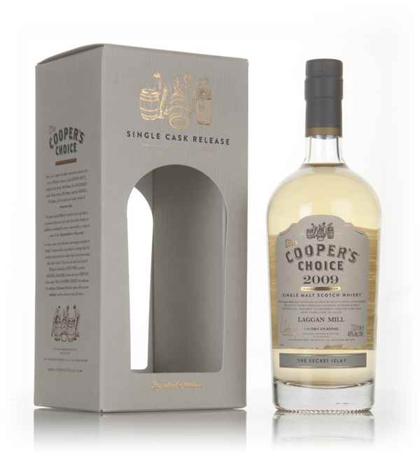 Laggan Mill 7 Year Old 2009 (cask 321578) - The Cooper's Choice (The Vintage Malt Whisky Co.)
