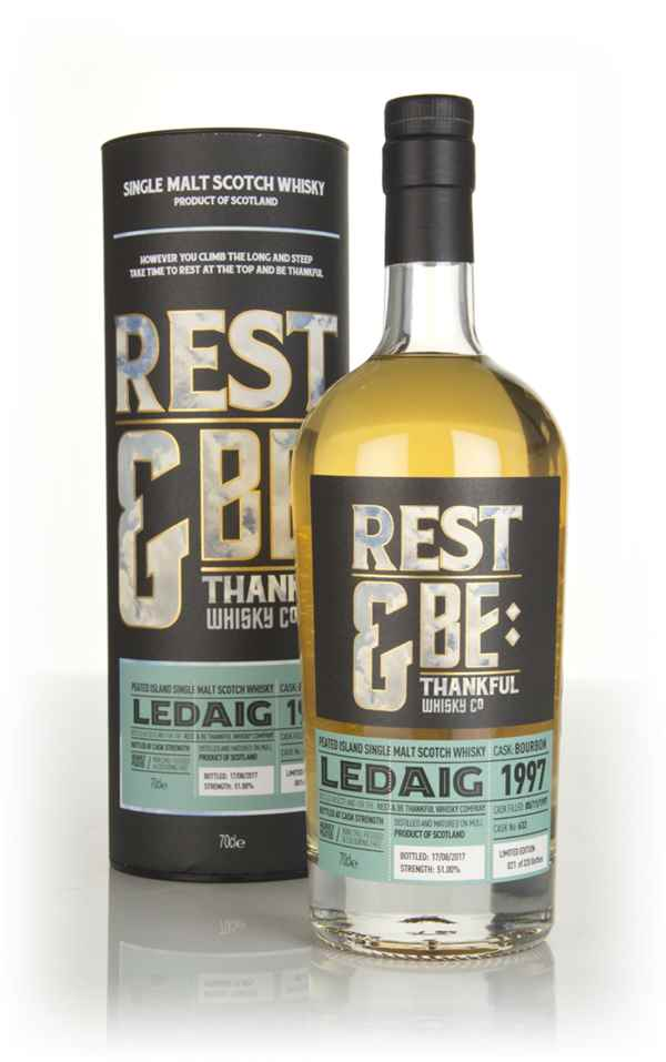 Ledaig 19 Year Old 1997 (cask 632) (Rest & Be Thankful)