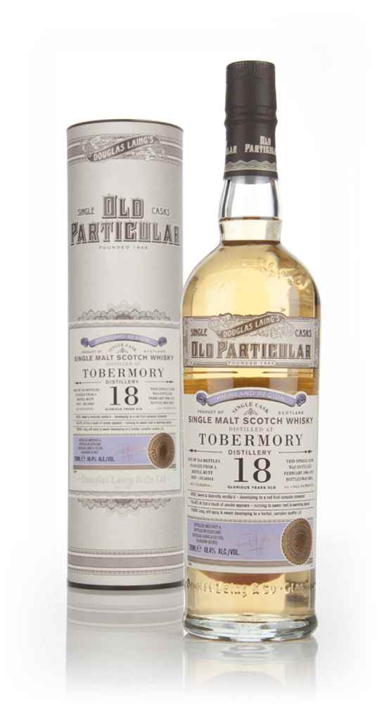 Tobermory 18 Year Old 1996 (cask 10361) - Old Particular (Douglas Laing)