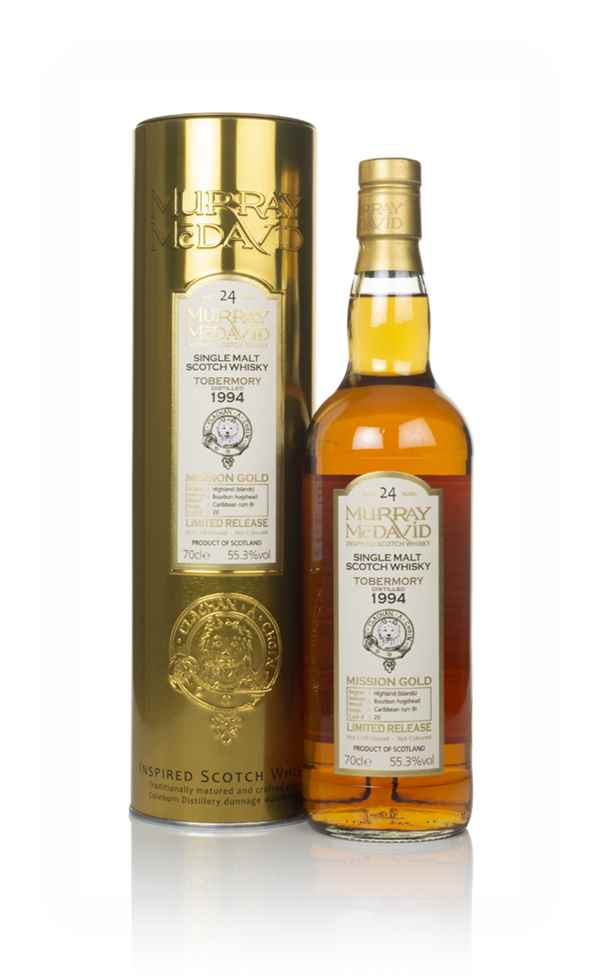 Tobermory 24 Year Old 1994 (cask 20) - Mission Gold (Murray McDavid)