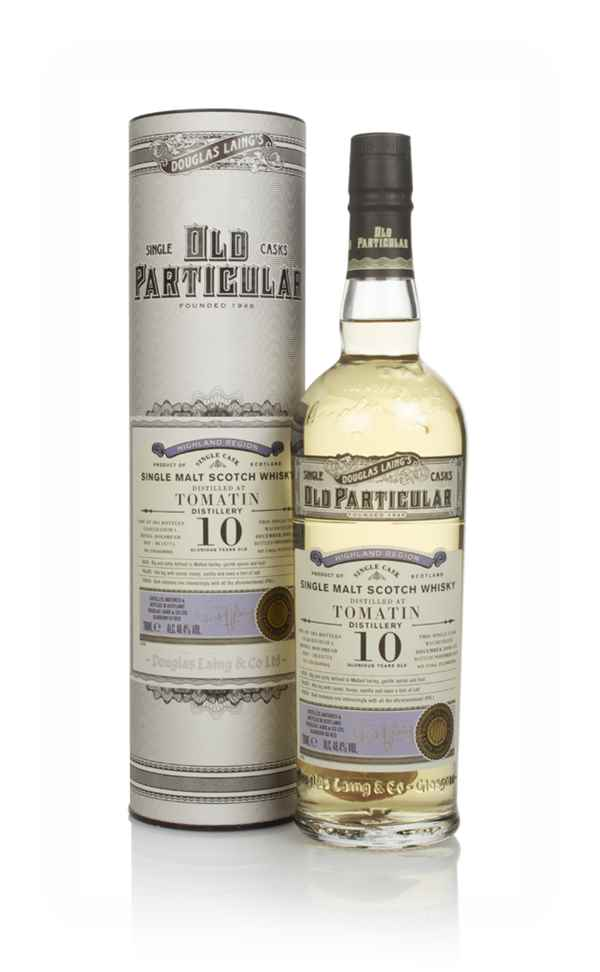 Tomatin 10 Year Old 2008 (cask 13774) - Old Particular (Douglas Laing)