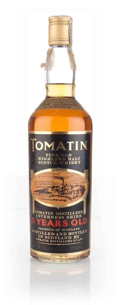 Tomatin 5 Year Old - 1970s