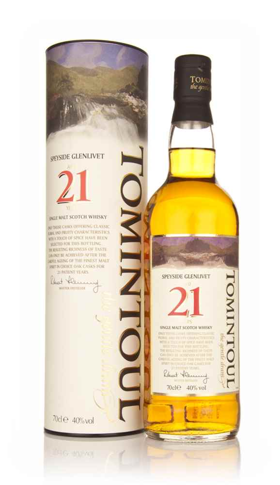 Tomintoul 21 Year Old (old bottling)