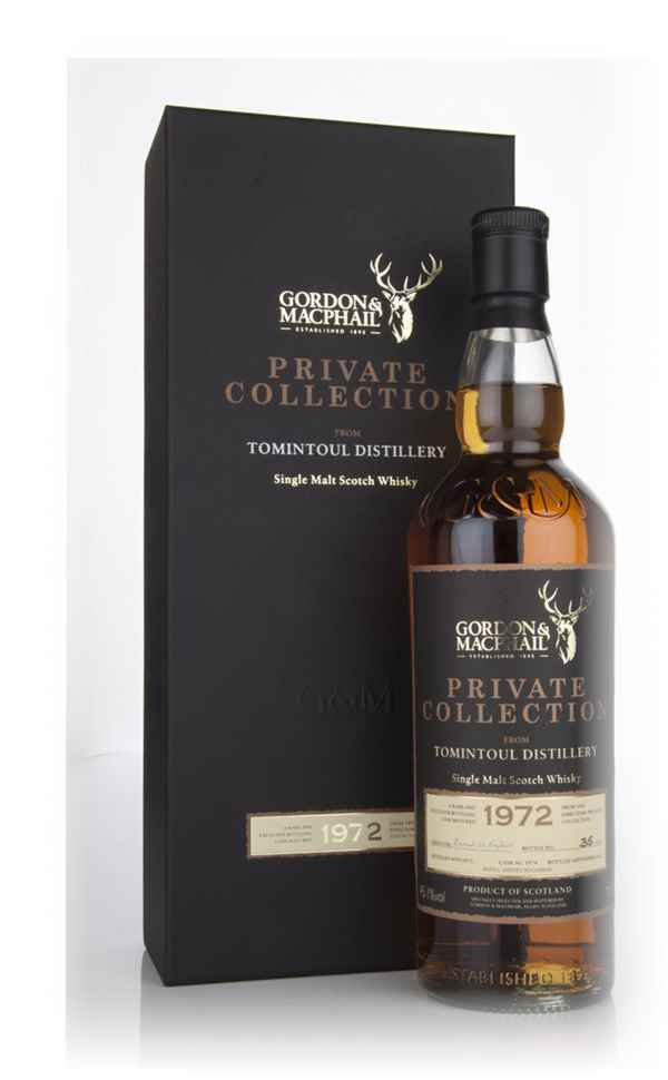 Tomintoul 1972  - Private Collection (Gordon & MacPhail)