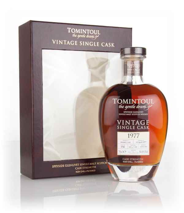Tomintoul 38 Year Old 1977 (cask 3700) - Vintage Single Cask