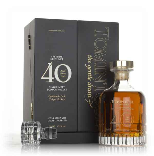Tomintoul 40 Year Old Quadruple Cask