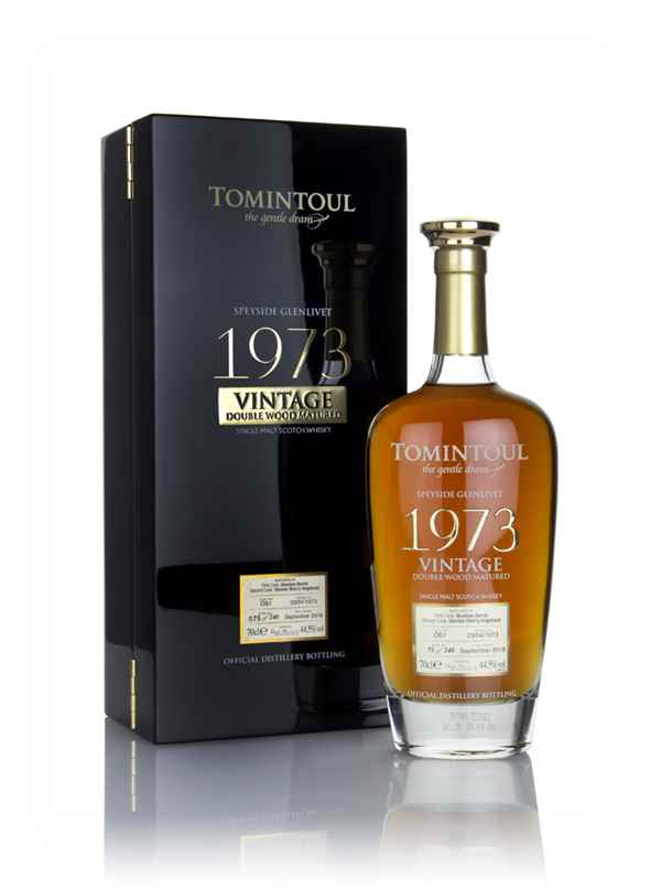 Tomintoul 45 Year Old 1973