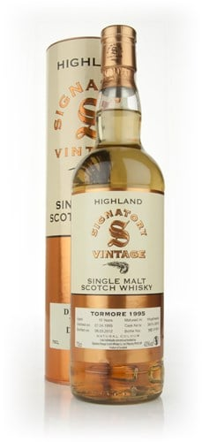 Tormore 16 Year Old 1995 (cask 3875+3876) (Signatory)