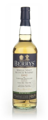 Tormore 20 Year Old 1992 (cask 100152) (Berry Bros. & Rudd)