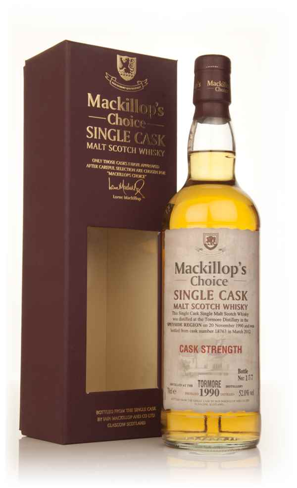 Tormore 21 Year Old 1990 - Mackillop's Choice Cask Strength
