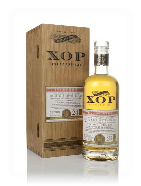 Tormore 24 Year Old 1995 (cask 13455) - Xtra Old Particular (Douglas Laing)