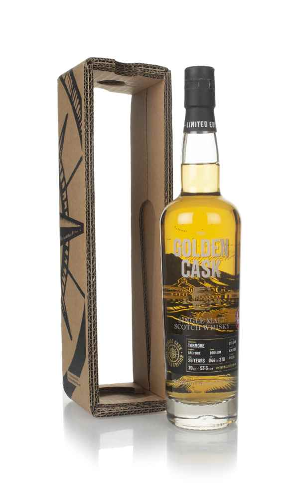 Tormore 26 Year Old 1988 (cask CM226) - The Golden Cask (House of Macduff)