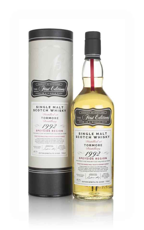 Tormore  26 Year Old 1992 (cask 16487) - The First Editions (Hunter Laing)