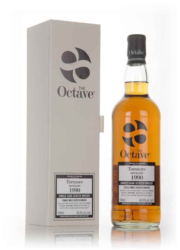 Tormore 27 Year Old 1990 (cask 828589) - The Octave (Duncan Taylor)