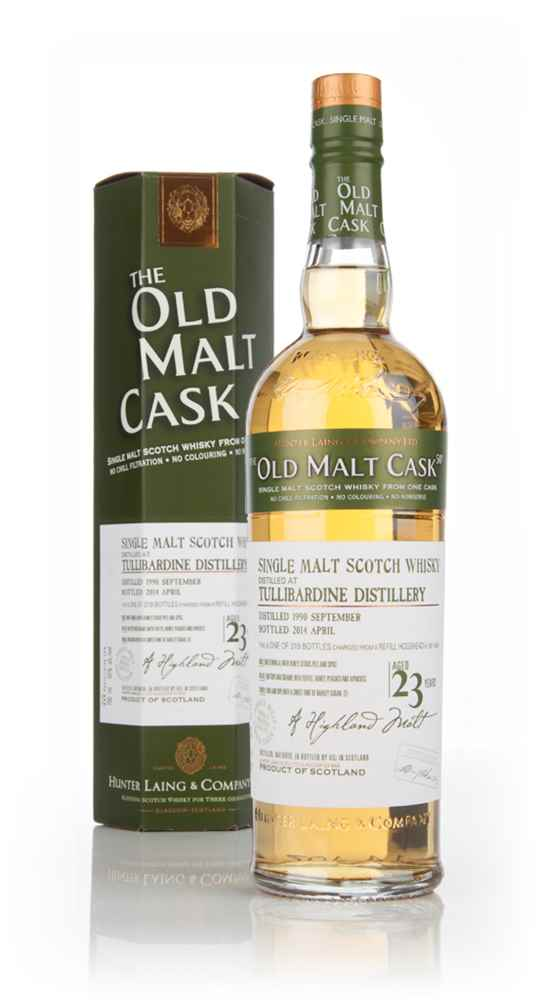Tullibardine 23 Year Old 1990 (cask 10453) - Old Malt Cask (Hunter Laing)
